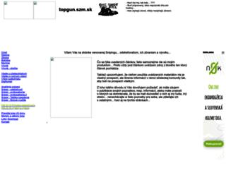 topgun.szm.com screenshot