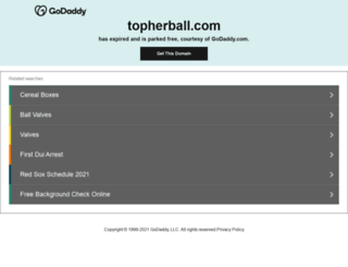 topherball.com screenshot