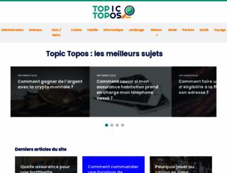 topic-topos.com screenshot