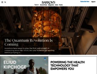 topics.barrons.com screenshot