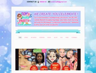 topkidsparty.com screenshot