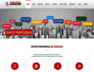 toplevel-traduceri.ro screenshot