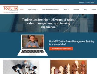 toplineleadership.com screenshot