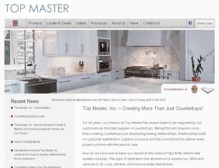 topmasterinc.com screenshot