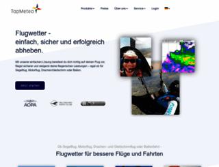 topmeteo.eu screenshot