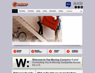 topmovingcompany4u.com screenshot