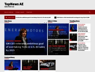 topnews.ae screenshot