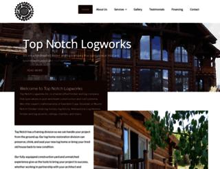 topnotch-logworks.com screenshot