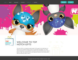 topnotchgifts.co.za screenshot