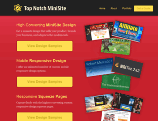 topnotchminisite.com screenshot