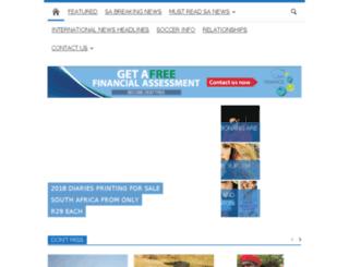 topsanews.co.za screenshot