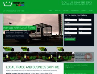 topskips.com screenshot
