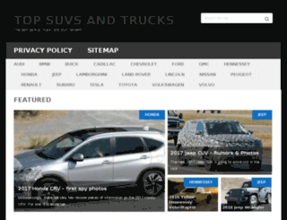 topsuvsntrucks.com screenshot