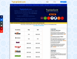 topupgold.com screenshot
