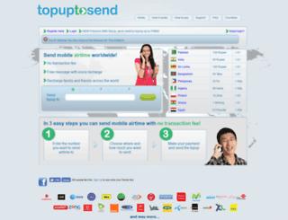 topuptosend.com screenshot