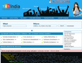 topwebservices.in screenshot