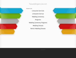 topweddingservices.com screenshot