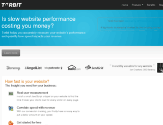 torbit.com screenshot