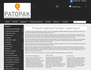 torebkistrunowe.com.pl screenshot