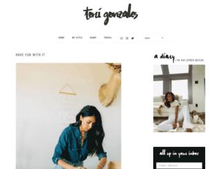 torigonzales.com screenshot