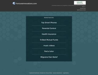 toronto.fortuneinnovations.com screenshot