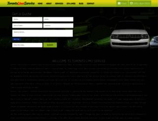 torontolimosservices.ca screenshot