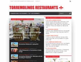 torremolinosrestaurants.com screenshot