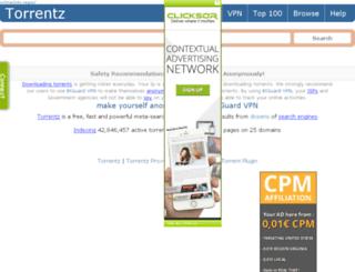 torrentz.black screenshot