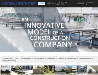 torresconstruction.com screenshot