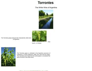 torrontes.com screenshot