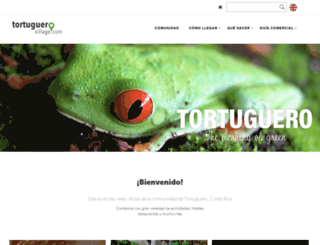 tortuguerovillage.com screenshot