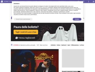 toscana.tiscali.it screenshot