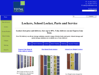 total-locker-service.com screenshot