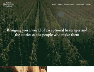 totalbeveragesolution.com screenshot