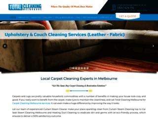 totalcleaningmelbourne.com.au screenshot