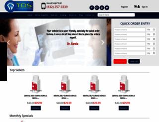 totaldentalsupply.com screenshot