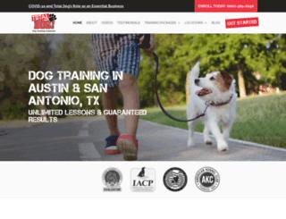 totaldog.com screenshot