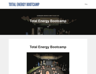totalenergybootcamp.com screenshot