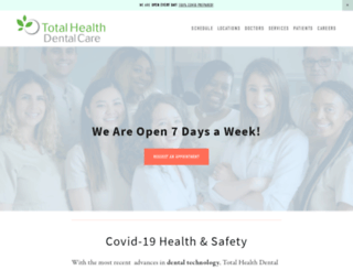 totalhealthdentalcare.com screenshot
