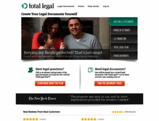 totallegal.com screenshot