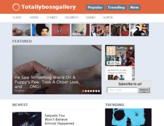 totallybossgallery.com screenshot