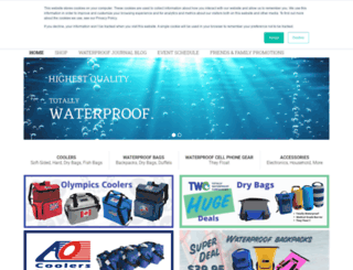totallywaterproofcontainers.com screenshot