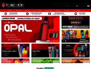 totallywicked-eliquid.co.uk screenshot