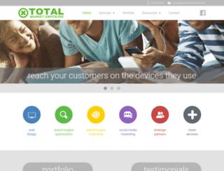 totalmarketexposure.com screenshot