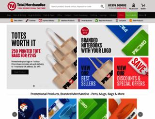 totalmerchandise.co.uk screenshot