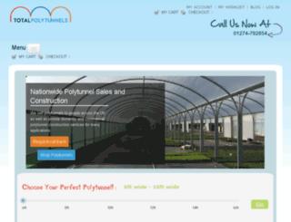 totalpolytunnels.co.uk screenshot