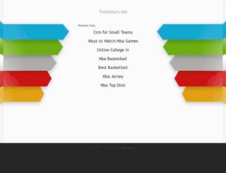 totalstats.net screenshot