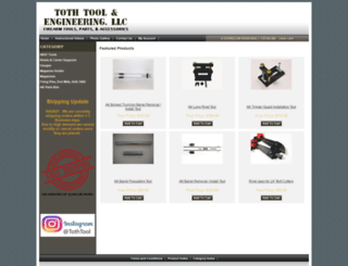 tothtool.3dcartstores.com screenshot
