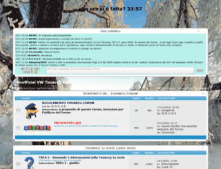 touareg.forumfree.it screenshot