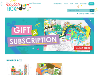 toucanbox.myshopify.com screenshot
